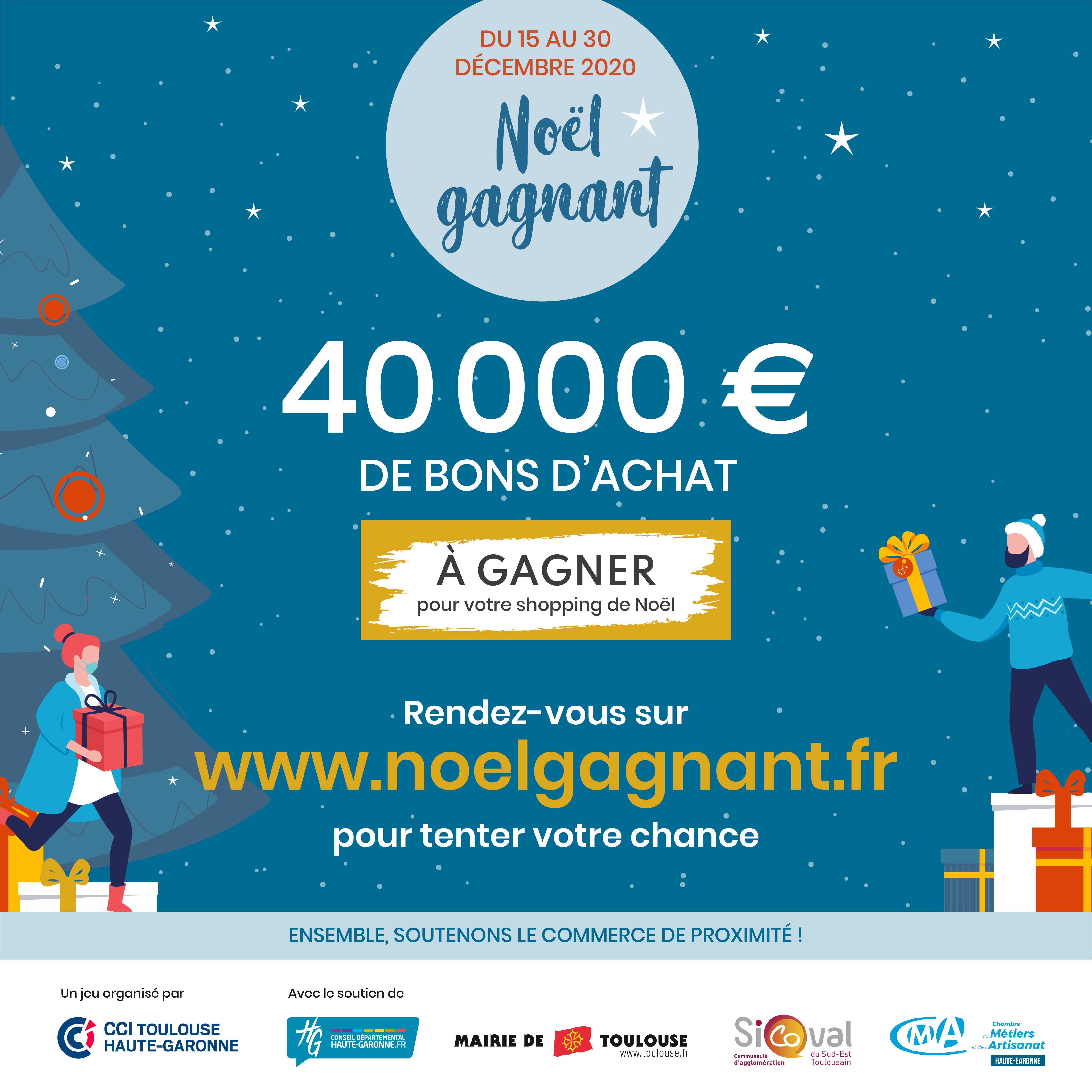 Noel Gagnant 2020 Toulouse