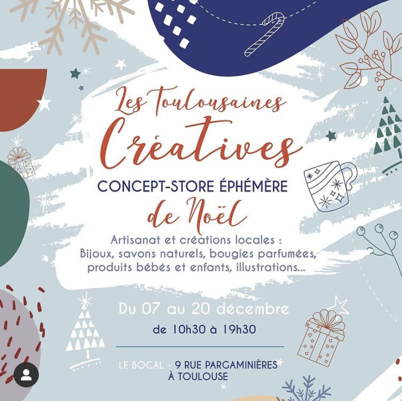 Toulousaines Creatives Noel 2020