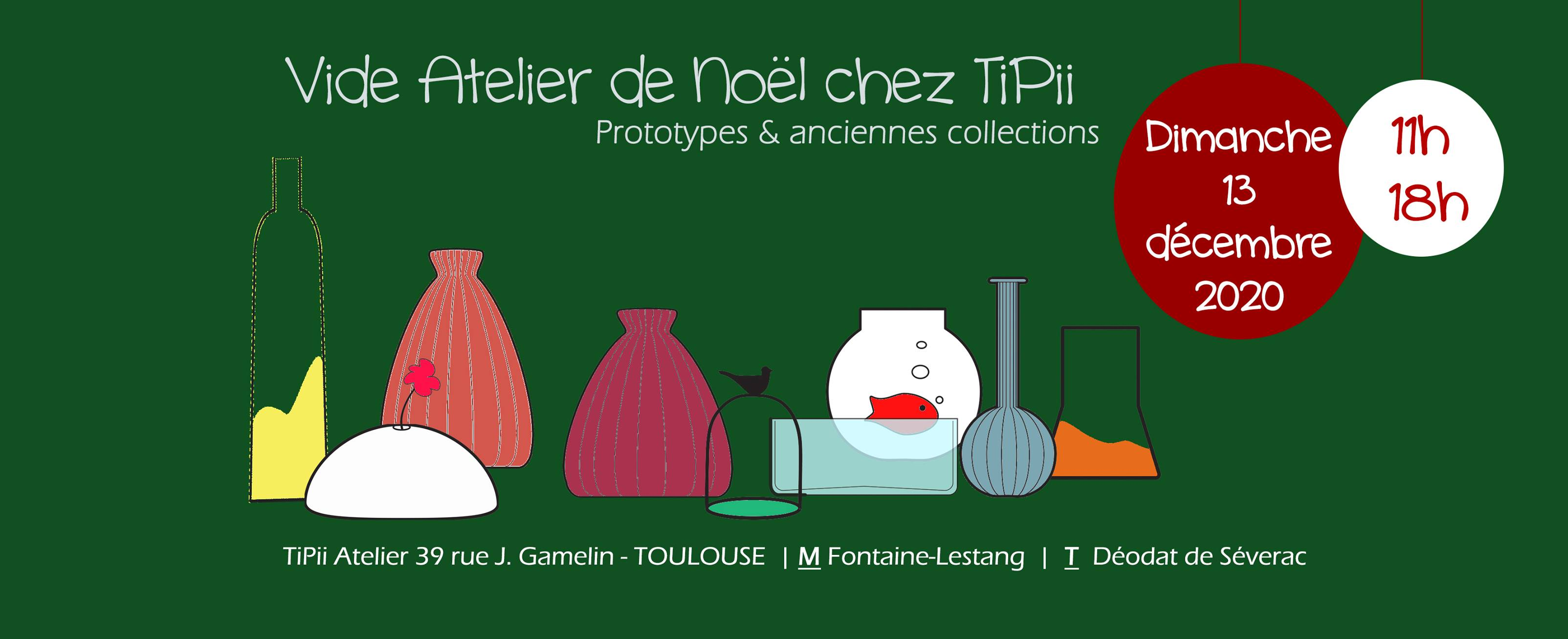 Vide Atelier Tipii 2020 Toulouse